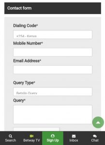 Betway Contacts