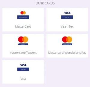 Helabet Bank Cards