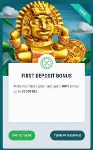 22 bet first deposit