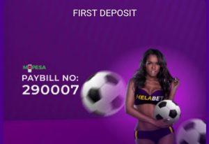 Helabet bonus - first deposit