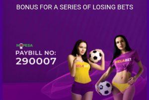 Helabet Bonus for a Series of Losing Bets