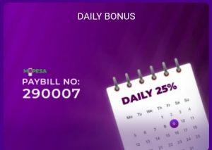 Helabet daily bonus