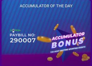 Helabet - accumulator of the day bonus