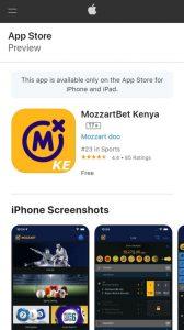 Mozzartbet AppStore