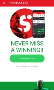 sportybet androtd download